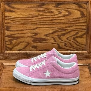 Converse One Star Ox Light Orchid White Black